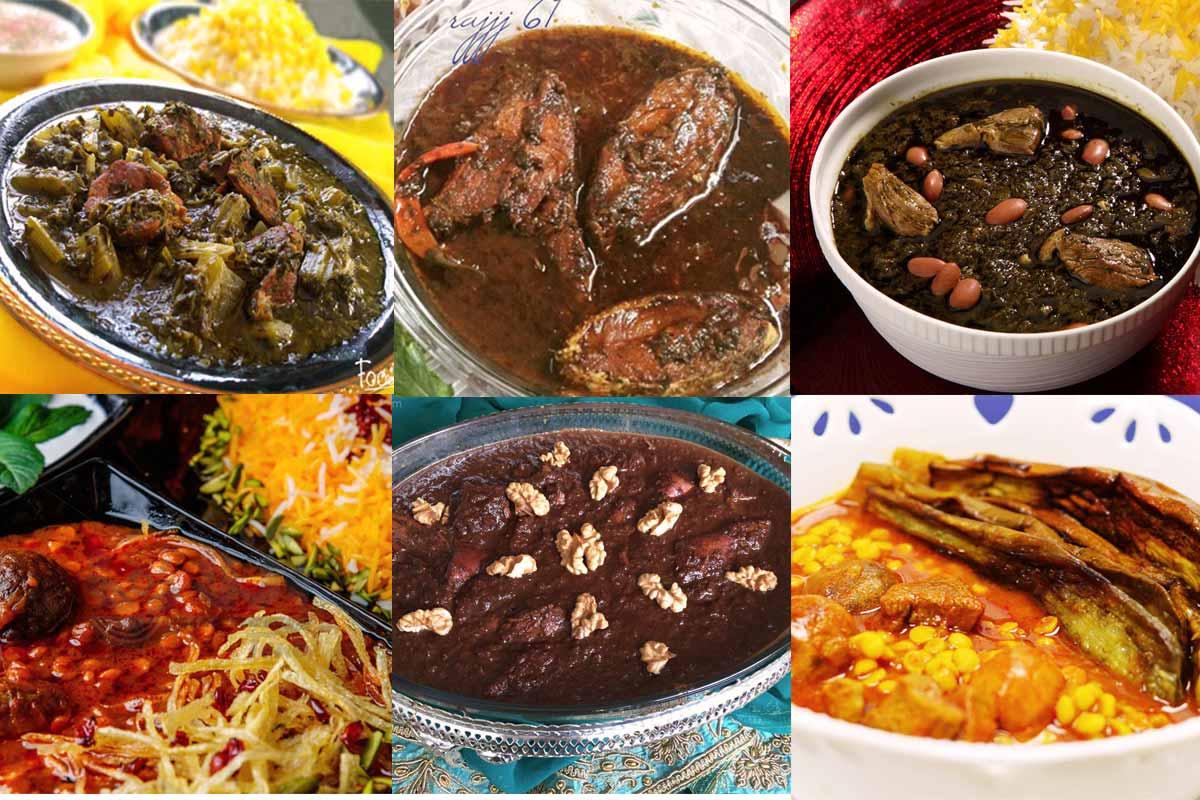 ده نوع خورشت خوشمزه و اصیل ایرانی که حتما باید امتحان کنید