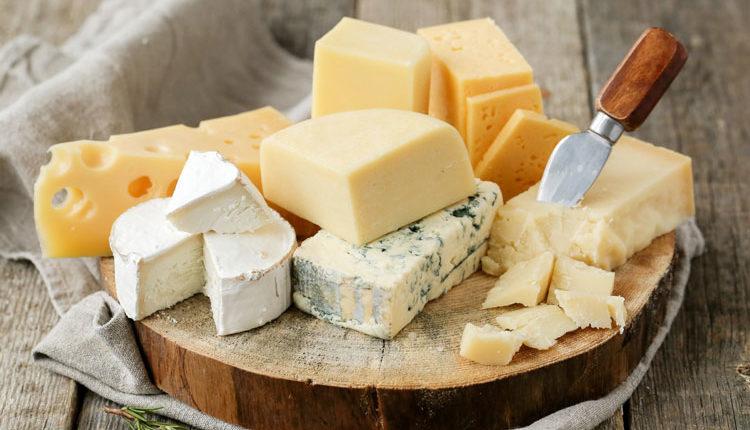 انواع مختلف پنیر از نظر شکل و طعم