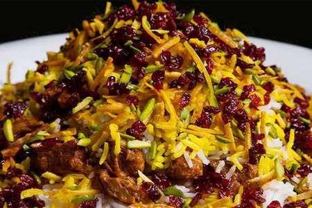 روش پخت چلو گوشت خوشمزه با برنج زعفرانی